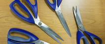 Каким должен быть угол заточки ножниц?