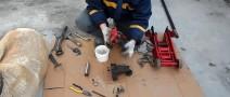 Как выполнить ремонт гидравлического подкатного домкрата своими руками?