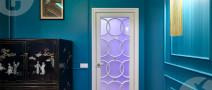 Двери с сатинированным стеклом